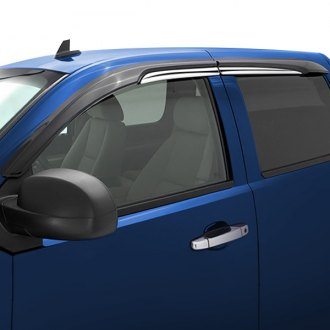 AVS® - Tape-On Accent Visor™ Smoke Front and Rear Window Deflectors