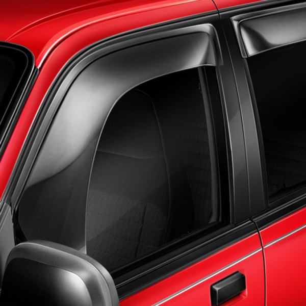 Image may not reflect your exact vehicle! AVS® - Tape-On Aerovisor™ Smoke Window Deflectors