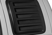 Image may not reflect your exact vehicle! AVS� - Aeroshade Rear Side Window Cover, Black.