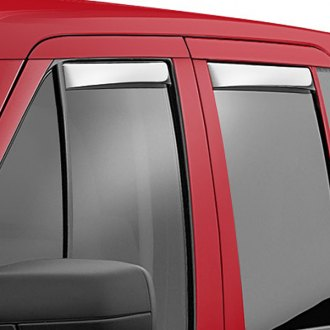 AVS® - Tape-On Ventshade™ Stainless Steel Front and Rear Window Deflectors