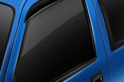 Image may not reflect your exact vehicle! AVS® - Tape-On Ventshade™ Black Window Deflectors