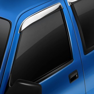 AVS® - Tape-On Ventshade™ Stainless Steel Front Window Deflectors