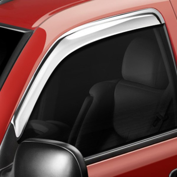 Image may not reflect your exact vehicle! AVS® - Chrome Ventvisor™ Window Deflectors