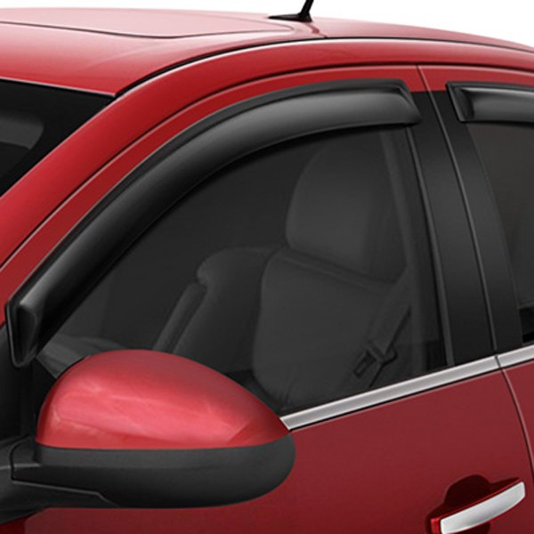 Image may not reflect your exact vehicle! AVS® - Tape-On Standard Ventvisor™ Smoke Window Deflectors