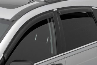 AVS® 94251 - Front and Rear Smoke Standard Ventvisor™ Window Deflectors