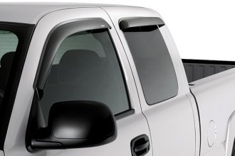 AVS® 94627 - Front and Rear Smoke Standard Ventvisor™ Window Deflectors