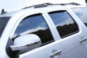 AVS® - Tape-On Standard Ventvisor™ Chrome Window Deflectors