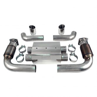 AWE Tuning® - 304 SS Muffler Delete Set with Cats