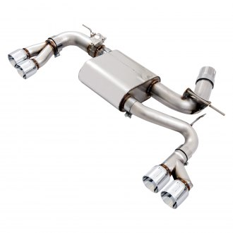 AWE Tuning® - SwitchPath™ 304 SS Downpipe-Back Exhaust System with Quad Rear Exit