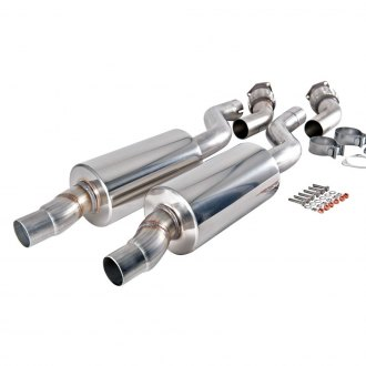 AWE Tuning® - 304 SS Resonated Downpipe