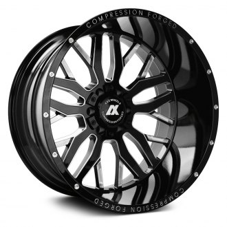 AXE® - AX1.0 Compression Forged Gloss Black with Milled Accents