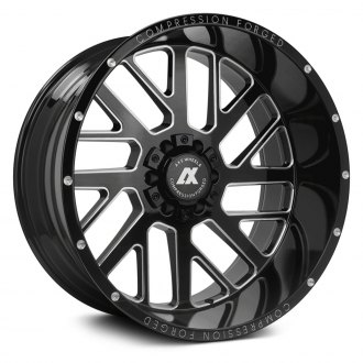 AXE® - AX2.0 Compression Forged Gloss Black with Milled Accents