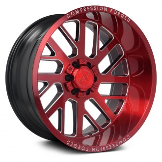 AXE® - AX2.2 Compression Forged Candy Red with Milled Accents