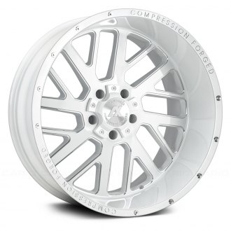 AXE® - AX2.3 Compression Forged Gloss White with Milled Accents