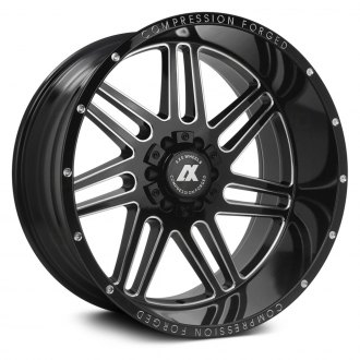 AXE® - AX3.0 Compression Forged Gloss Black with Milled Accents
