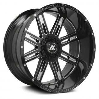 AXE® - AX4.0 Compression Forged Gloss Black with Milled Accents