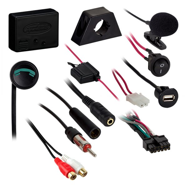 Axxess® - Bluetooth Streaming Music Car Kit for Factory Radios and Hands-Free Calling