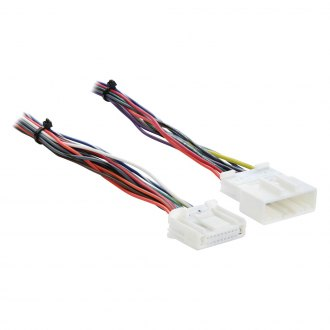 2011 nissan rogue oe wiring harnesses stereo adapters at carid