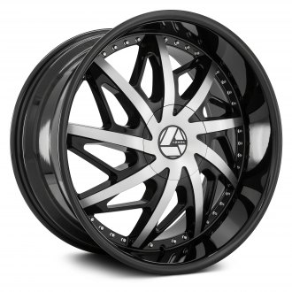 AZARA® - AZA-510 Gloss Black with Machined Face