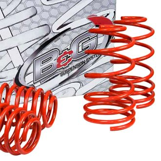 "B&G Springs® - 1.5"" x 1.5"" S2 Series Front and Rear Lowering Coil Springs"