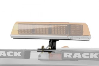 "BackRack® 91002REC - Center Utility Light Bracket with 16"" x 7"" Base"