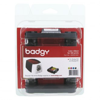 Badgy® - YMCKO Color Ribbon for 100 Prints