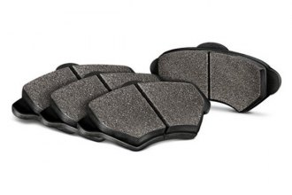 Image may not reflect your exact vehicle! Baer® - Sport Ceramic Decela Front Brake Pads
