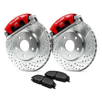 Baer® - AlumaSport Series Drilled and Slotted Brake System