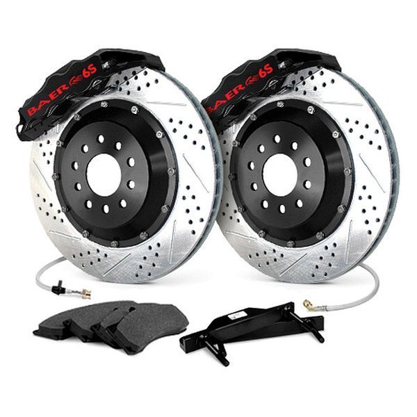 Baer® - Extreme Plus Brake System with Black Calipers