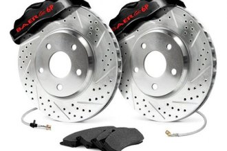 Baer® 4301299B - Pro Front Brake System with Black Calipers
