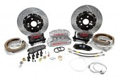 Baer® - Pro Plus Front Brake System with Silver Calipers