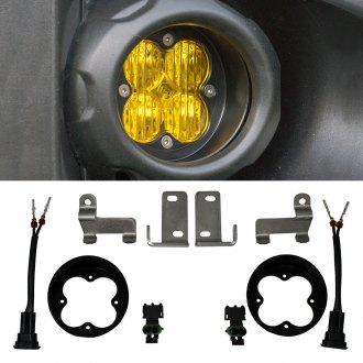Baja Designs® - Fog Light Location Mounts for Squadron-R Racer™/Pro™/Sport™ Series Lights