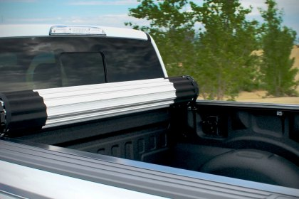 BAK® Revolver X2 Hard Rolling Tonneau Cover on a 2017 Ford Raptor (Full HD)
