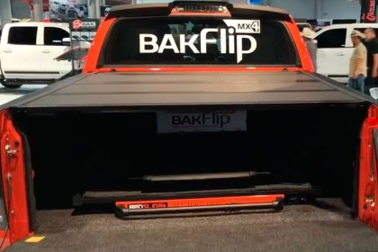 BAK® BakFlip MX4 Folding Tonneau Cover SEMA Show 2017 (HD)