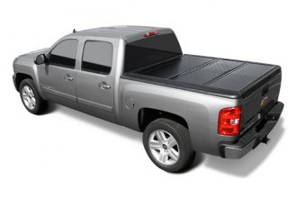 Image may not reflect your exact vehicle! BAK® - BakFlip Folding Tonneau Cover, Mid Open