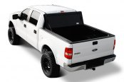 Image may not reflect your exact vehicle! BAK® - BakFlip Folding Tonneau Cover, Open