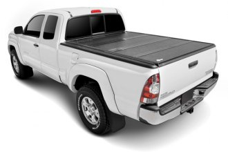 Image may not reflect your exact vehicle! BAK� - BakFlip Folding Tonneau Cover, Closed