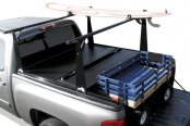 BAK� - BakFlip Folding Tonneau Cover, Mid Open Loaded
