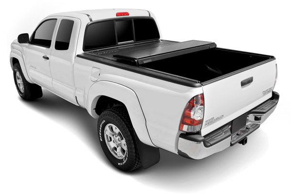 Image may not reflect your exact vehicle! BAK� - BakFlip Folding Tonneau Cover, Mid Open
