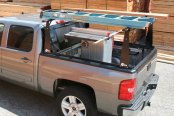 Image may not reflect your exact vehicle! BAK® - BakFlip CS Folding Tonneau Cover with Rack System