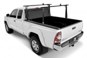 BAK® - BakFlip Folding Tonneau Cover, Open with Rack System