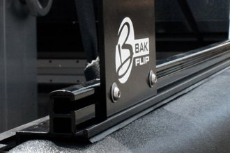 BAK� - BakFlip Folding Tonneau Cover with Rack, Rail System