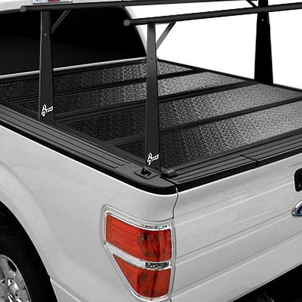 Image may not reflect your exact vehicle! BAK® - BakFlip CS-F1 Folding Tonneau Cover with Rack System