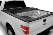 Image may not reflect your exact vehicle! BAK® - BAKFlip G2 Folding Tonneau Cover, Mid Open