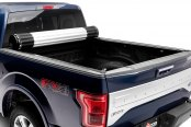 Image may not reflect your exact vehicle! BAK® - Revolver X2 Rolling Tonneau Cover, Open