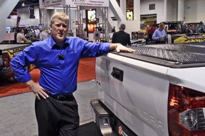 BAK® BakFlip Folding Tonneau Covers at SEMA (HD)