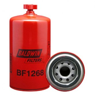 Baldwin Filters® - Suction Line Spin-On Fuel/Water Separator with Drain