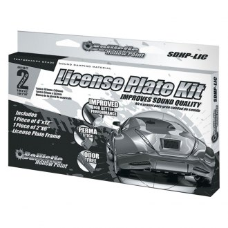 Ballistic Sound® - License Plate Kit