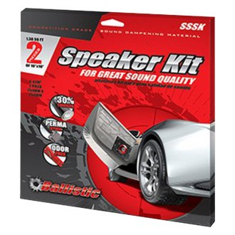 Ballistic Sound® - Sound Suppression Speaker Kit, 2 Pcs