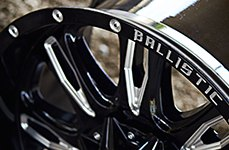 BALLISTIC® - SCYTHE Gloss Black with Milled Window